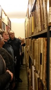 David Thomas in archives