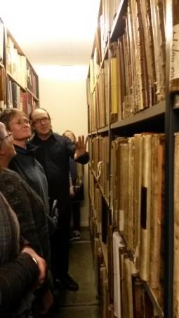 David Thomas in archives
