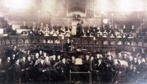 Redruth Wesleyan Young Men's Bible Class orchestra 1911