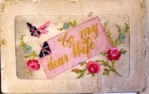 To My Dear Wife postcard