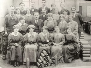Munitions factory workers Hayle