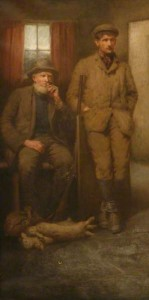 Grandfather and brother - a poacher, perhaps