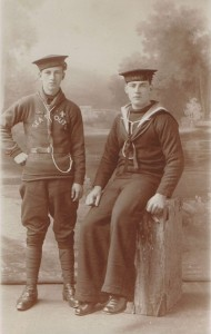 Cousins William Carveth & Unknown Cousin - Drowned - Copy