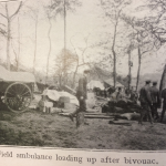 Field Ambulance loading up after bivouac