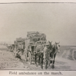 Field Ambulance on the march