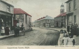 Copperhouse Square Hayle 1905