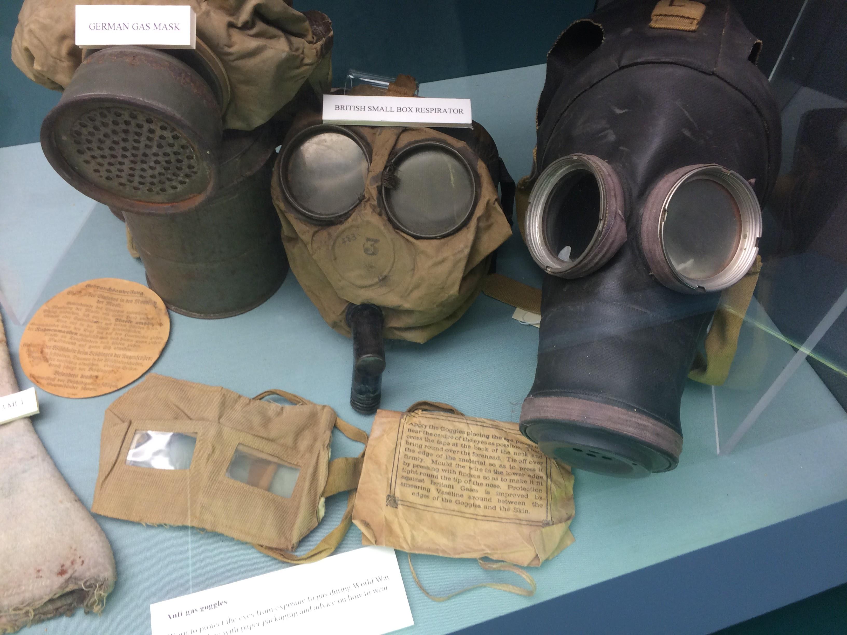 WW1 gas masks